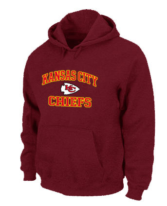 Kansas City Chiefs Heart & Soul Pullover Hoodie Red