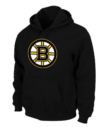 NHL Boston Bruins Big Tall Logo Pullover Hoodie Black