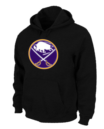 NHL Buffalo Sabres Big Tall Logo Pullover Hoodie Black
