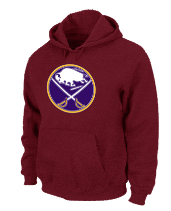 NHL Buffalo Sabres Big Tall Logo Pullover Hoodie Red