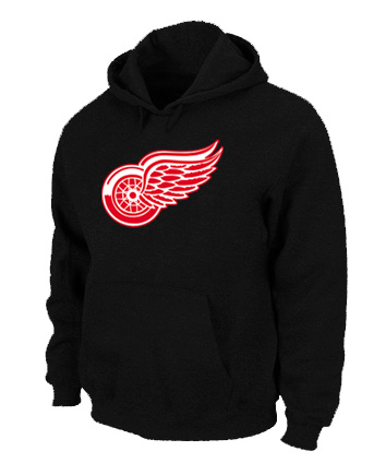 NHL Detroit Red Wings Big Tall Logo Pullover Hoodie Black