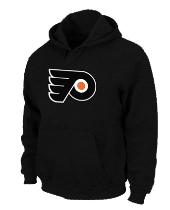 NHL Philadelphia Flyers Big Tall Logo Pullover Hoodie Black