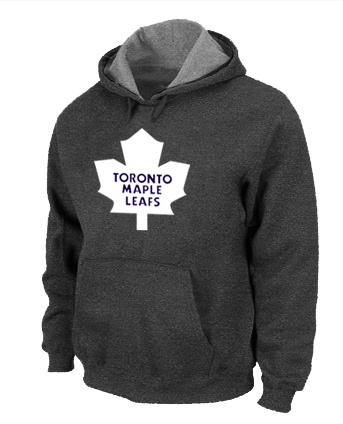 NHL Toronto Maple Leafs Big Tall Logo Pullover Hoodie D.Grey