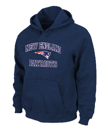 New England Patriots Heart & Soul Pullover Hoodie D.Blue