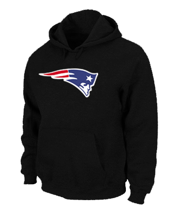 New England Patriots Logo Pullover Hoodie black