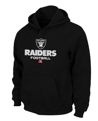 Oakland Raiders Critical Victory Pullover Hoodie black