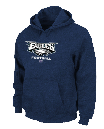 Philadelphia Eagles Critical Victory Pullover Hoodie D.Blue