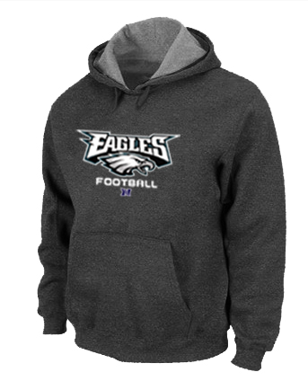 Philadelphia Eagles Critical Victory Pullover Hoodie D.Grey