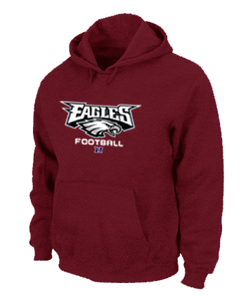 Philadelphia Eagles Critical Victory Pullover Hoodie RED