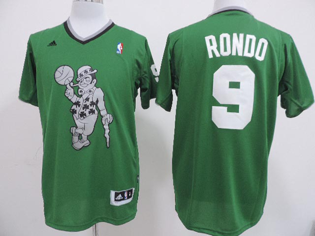 NBA Boston Celtics 9 Rajon Rondo Green 2013 Christmas Day Jersey