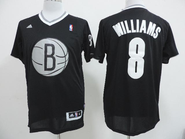 NBA Brooklyn Nets 8 Deron Williams Black 2013 Christmas Day Jersey