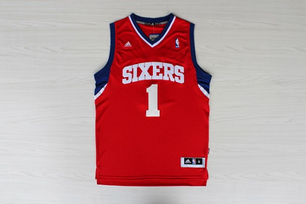 NBA Philadelphia 76ers 1 carter williams Red Fans New Revolution 30 Jersey