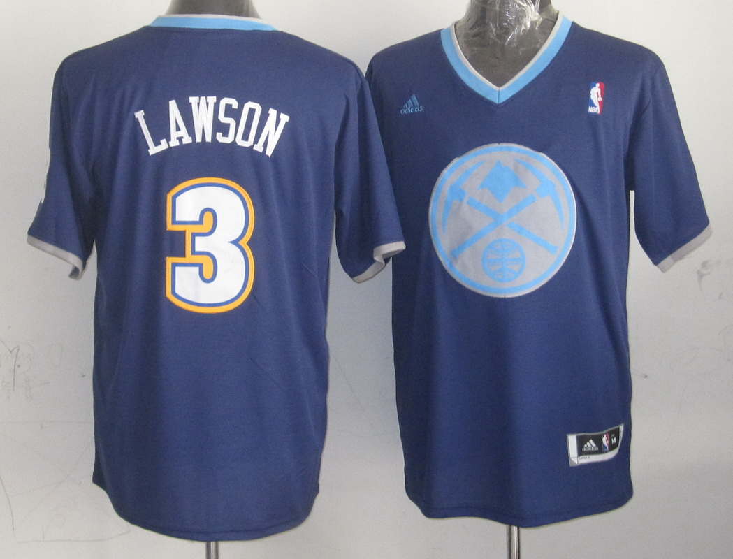 NBA Denver Nuggets 3 Ty Lawson Blue 2013 Christmas Day Jersey