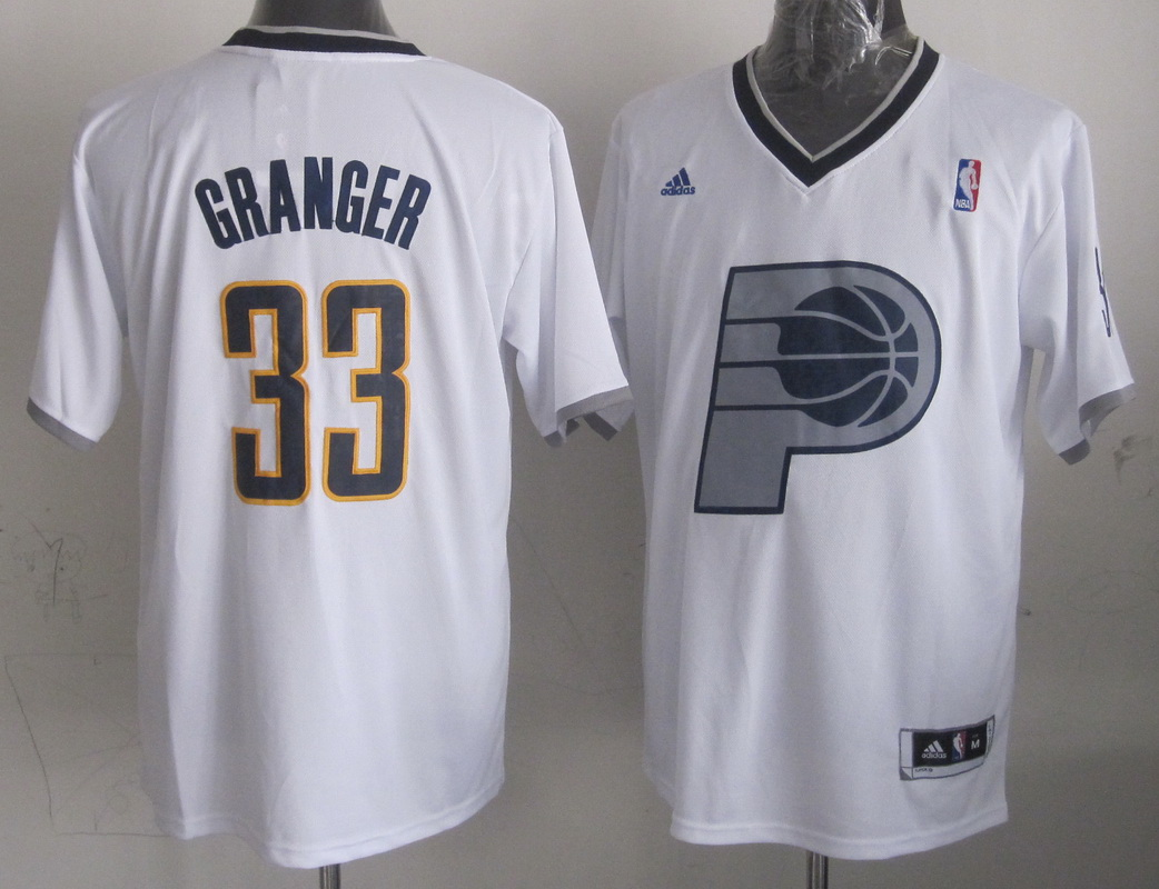 NBA Indlana Pacers 33 Danny Granger White 2013 Christmas Day Jersey