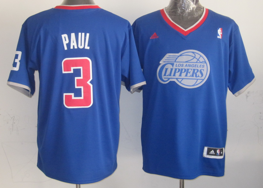NBA Los Angeles Clippers 3 Chris Paul Blue 2013 Christmas Day Jersey