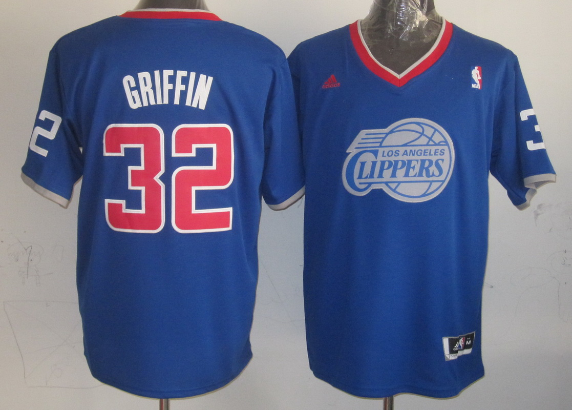NBA Los Angeles Clippers 32 Blake Griffin Blue 2013 Christmas Day Jersey