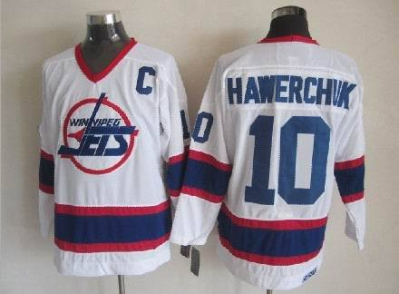 NHL New York Islanders 10 Hawerchvk white Jerseys