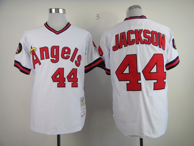 MLB jerseys Los Angeles Angels 44 Jackson M&N 1982 white jerseys
