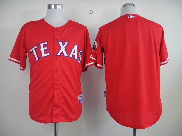 MLB Jerseys Texas Rangers blank Red 2014 new Jerseys