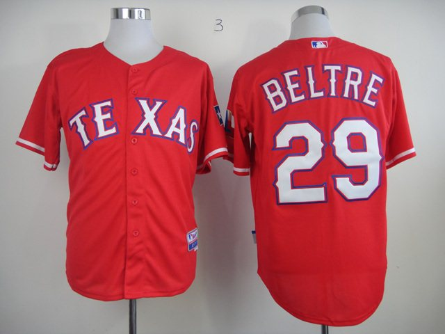 Texas Rangers 29 Beltre Red 2014 new jerseys