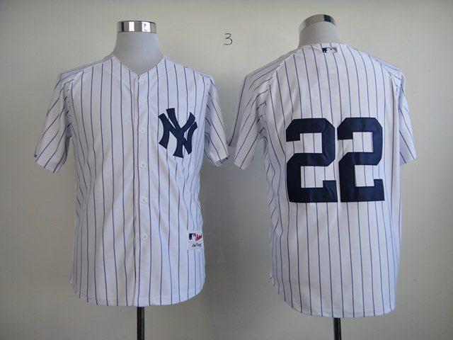 New York Yankees 22 Authentic Ellsbury Home Jerseys