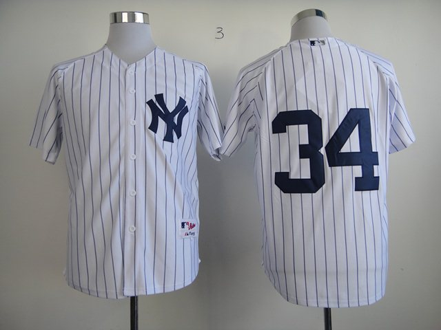 New York Yankees 34 Authentic Brian McCann Home jerseys