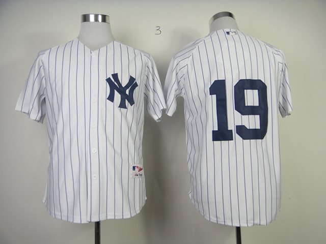 New York Yankees Authentic 19 Masahiro Tanaka white Jersey
