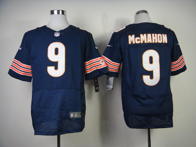 Nike Nfl chicago bears 9 mcmahon blue M&N jerseys