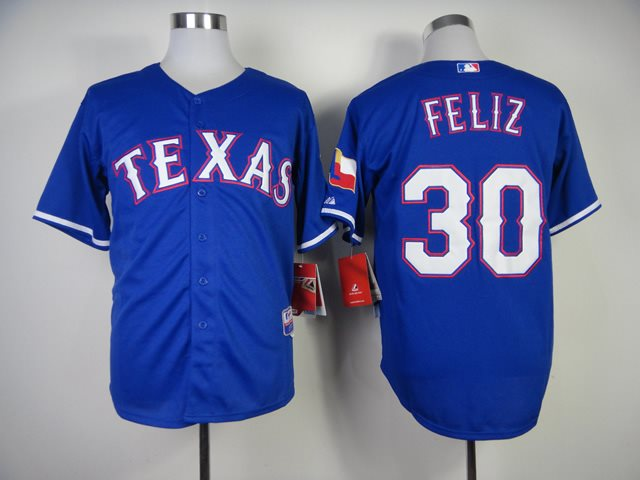 MLB Jerseys Texas Rangers 30 Feliz 2014 new Blue Jerseys