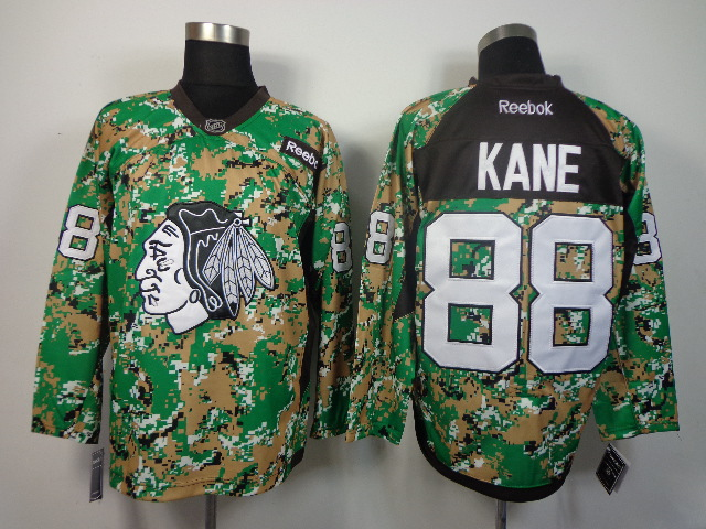 NHL Chicago Blackhawks 88 Kane camo jerseys