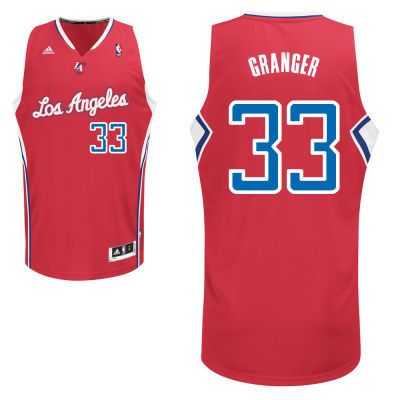 Adidas NBA Los Angeles Clippers 33 Danny Granger New Revolution 30 Swingman Red Jersey