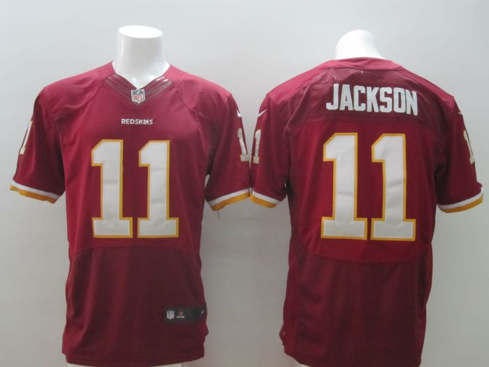 2014 New Nike NFL Washington Redskins 11 DeSean Jackson Burgundy Red Elite Jersey