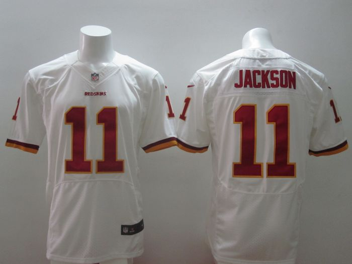 2014 New Nike NFL Washington Redskins 11 DeSean Jackson Burgundy white Elite Jersey