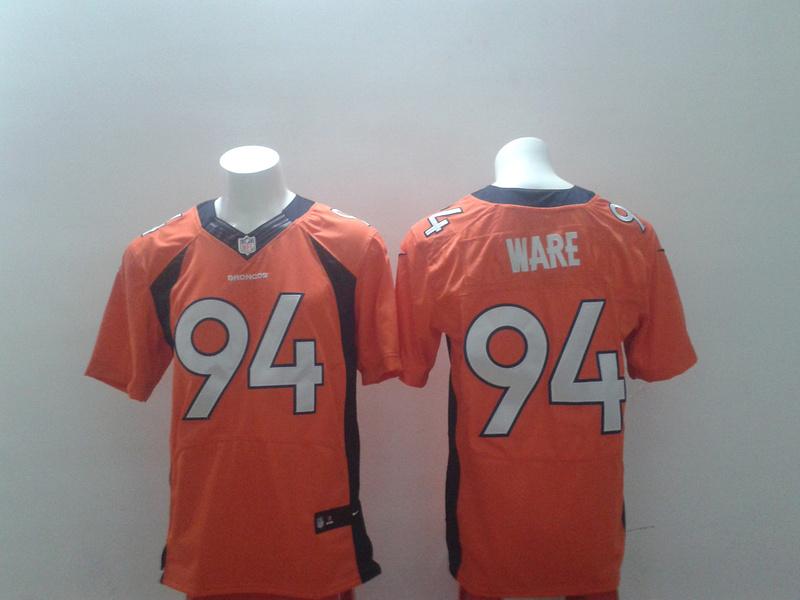 2014 New Nike Denver Broncos 94 DeMarcus Ware orange Elite Jersey