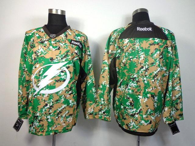 NHL Tampa Bay Lightning blank camo Jersey
