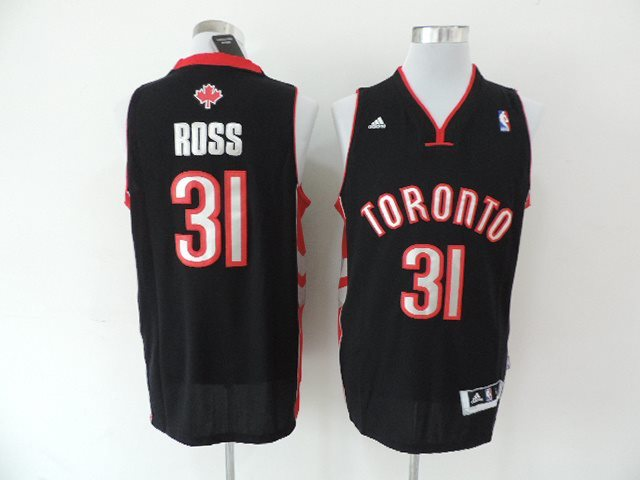 NBA Toronto Raptors #31 Rose Black