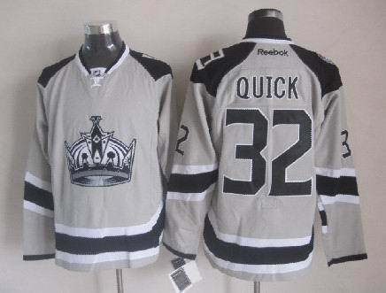 Los Angeles Kings 32 Quick grey Jersey