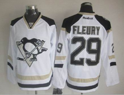 Pittsburgh Penguins #29 Marc-Andre Fleury White 2014 Stadium Series jerseys