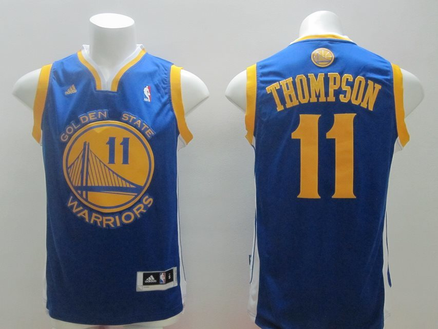 Golden State Warriors #11 Thompson Blue Swingman jerseys