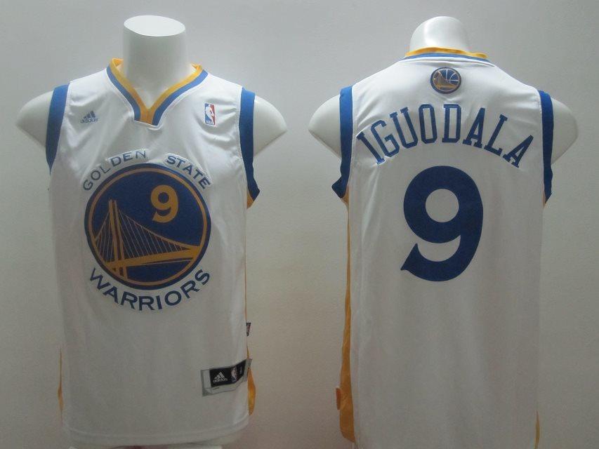 Golden State Warriors 9 Iguodala white Swingman jerseys