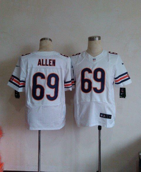 Nike NFL Chicago Bears 69 Allen White elite jerseys