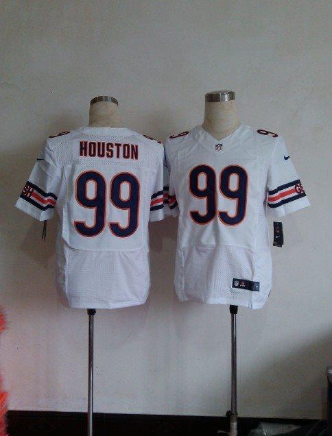 Nike NFL Chicago Bears 99 Houston White elite jerseys