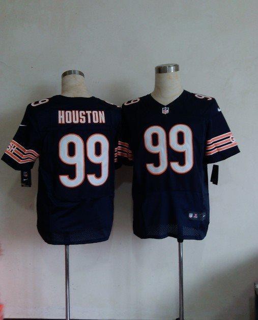Nike NFL Chicago Bears 99 Houston blue elite jerseys