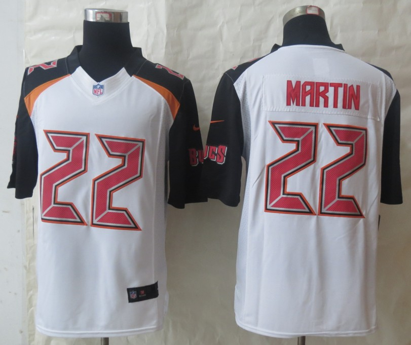 2014 New Nike Tampa Bay Buccaneers 22 Martin White Limited Jerseys