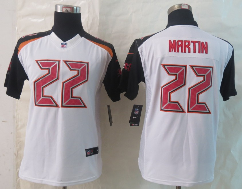 Youth 2014 New Nike Tampa Bay Buccaneers 22 Martin White Limited Jerseys