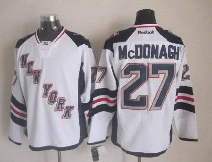 New York Rangers #27 Ryan McDonagh White 2014 Stadium Series NHL Jersey