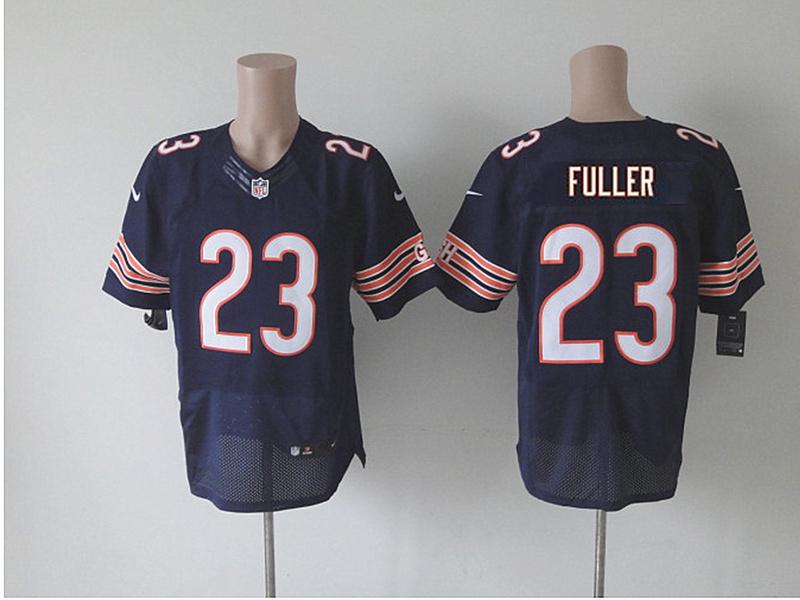 Chicago Bears #23 Fuller Blue 2014 Nike NFL Draft Elite jerseysv