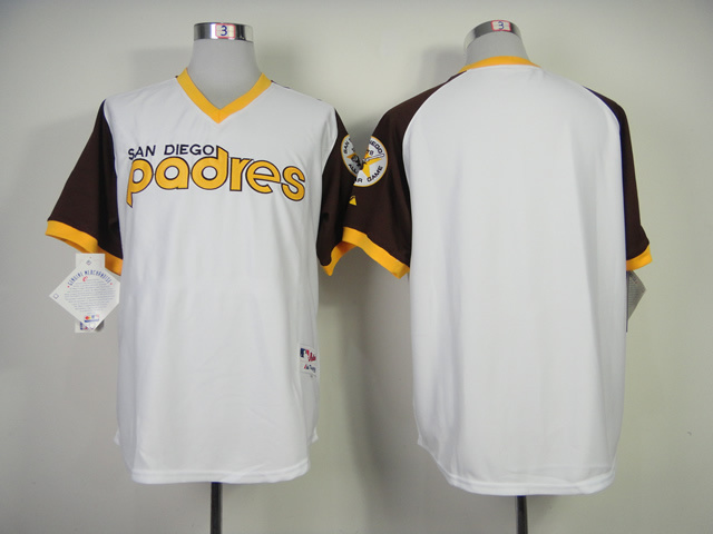 San Diego Padres Blank Authentic 1978 Turn Back The Clock Jersey