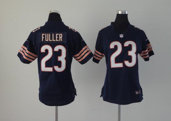 Womens Chicago Bears 23 Fuller Blue 2014 Nike NFL Jerseys