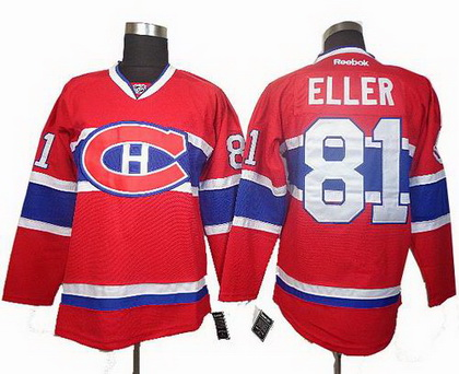 Montreal Canadiens #81 Eller Red Jersey